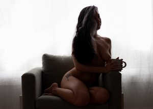 Nyah incall escort in Ridgefield and casual sex
